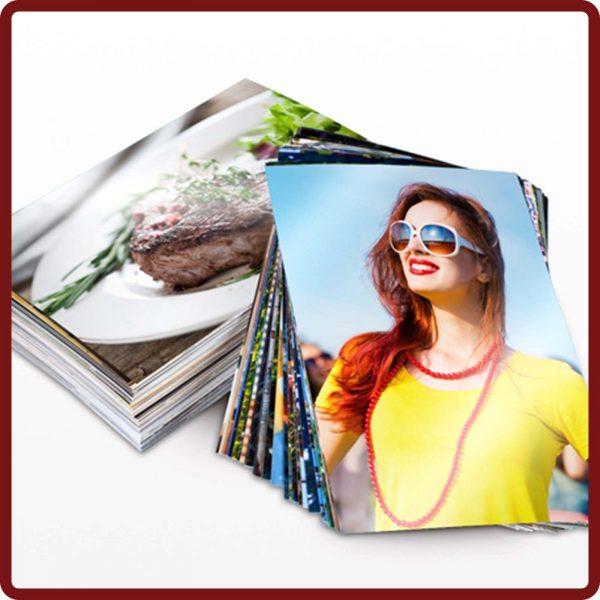 Fotoabzüge in Premiumpapier im Format 13x18 cm