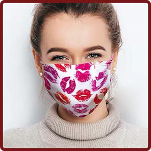 Gesichtsmaske bedruckt mit eigenem Motiv