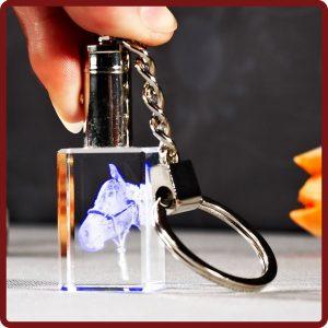 Looxis Schlüsselanhänger mit Bild und Licht bei photoimaging