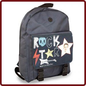 Sehr beliebt bei Jugendlichen und Studenten mit der Möglichkeit, ein individuelles Design aufzubringen, das jeden Rucksack einzigartig & speziell macht.