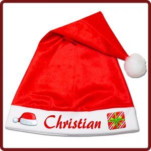 Weihnachtsmütze / Nikolomütze bedrucken lassen