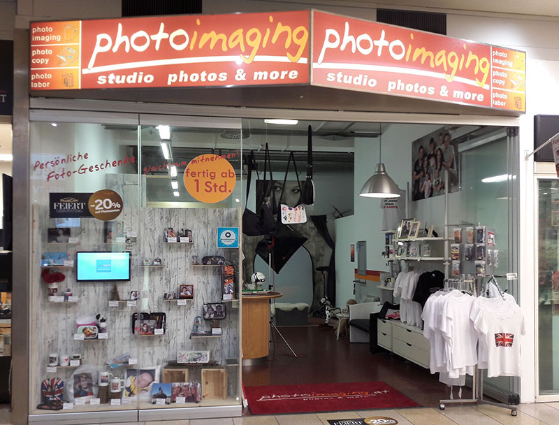 photoimaging in der Plus City Pasching