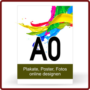 Plakat drucken Format A0