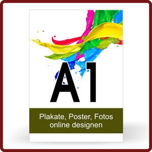 Plakat drucken Format A1