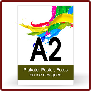 Plakat drucken Format A2